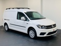 USED 2016 16 VOLKSWAGEN CADDY MAXI 2.0 C20 TDI TRENDLINE AUTO 101 BHP NO VAT + TOP SPEC MODEL + LOW MILES + AUTOMATIC + COLOUR CODED