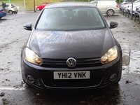 USED 2012 12 VOLKSWAGEN GOLF 2.0 GT TDI 5d 138 BHP NAV DVD FSH LOW MILEAGE VERY HIGH SPEC IMMACULATE EXAMPLE