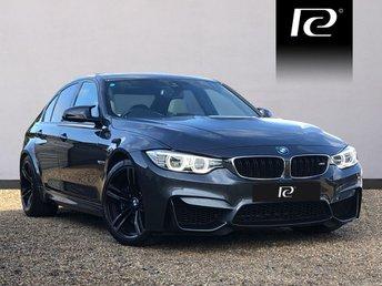 2015 BMW M3 3.0 M3 4d AUTO 426 BHP £33990.00