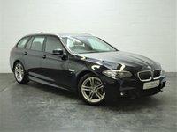 2015 BMW 5 SERIES 2.0 520D M SPORT TOURING 5d AUTO 188 BHP £10995.00