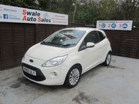 USED 2010 60 FORD KA 1.2 ZETEC 3d 69 BHP FINANCE AVAILABLE FROM £30 PER WEEK OVER TWO YEARS - SEE FINANCE LINK FOR DETAILS