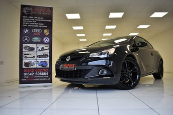 2015 VAUXHALL ASTRA 1.6 GTC LIMITED EDITION 3 DOOR  £9495.00