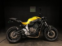 2015 YAMAHA MT-07 ABS. 2015. EXHAUST SYSTEM. 12682 MILES. TAIL TIDY. SERV HISTORY £4295.00