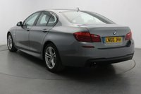 USED 2016 66 BMW 5 SERIES 2.0 518D M SPORT 4d AUTO 148 BHP 61.4MPG - Sat Nav - Leather
