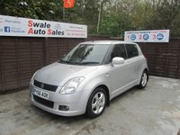 2006 SUZUKI SWIFT 1.5 GLX VVTS 5d 101 BHP £1995.00