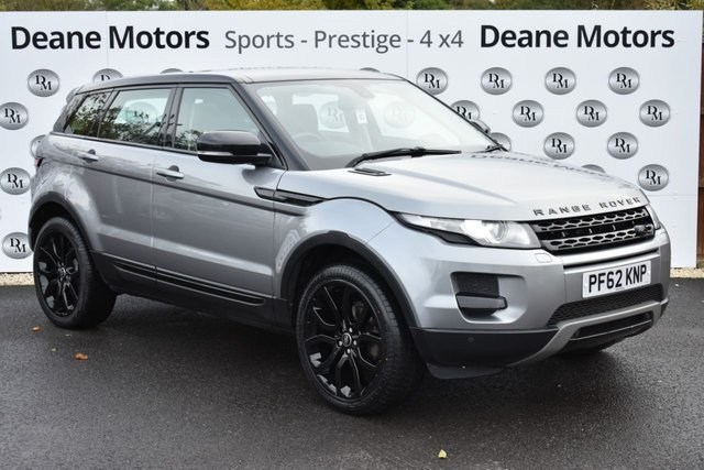 2013 62 LAND ROVER RANGE ROVER EVOQUE 2.2 SD4 PURE TECH 5d AUTO 190 BHP PANORAMIC ROOF 20