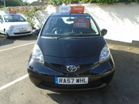 USED 2007 57 TOYOTA AYGO 1.0 BLACK VVT-I 3d 69 BHP GUARANTEED TO BEAT ANY 'WE BUY ANY CAR' VALUATION ON YOUR PART EXCHANGE