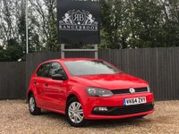 2014 VOLKSWAGEN POLO 1.0 S AC 5dr £6999.00