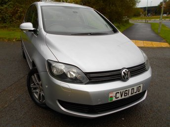 2011 VOLKSWAGEN GOLF PLUS 1.6 BLUEMOTION SE TDI 5d 103 BHP ** ONE PREVIOUS OWNER ,YES ONLY 37,984 MILES FROM NEW , DIESEL, £30 ROAD TAX, CRUISE CONTROL , AIRCON, ALLOYS, SUPERB VEHICLE ** £5795.00