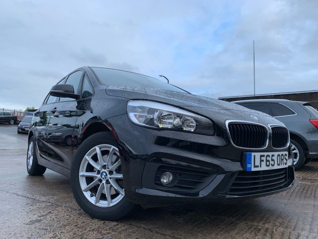 USED 2015 65 BMW 2 SERIES ACTIVE TOURER 1.5 216D SE 5d 114BHP 1OWNER+FSH+0 ROAD TAX+SATNAV+MEDIA+PHONE+PARK+CLIMATE+CRUISE+USB