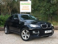 USED 2014 14 BMW X6 3.0 XDRIVE30D 4dr AUTO HUGE Spec, Nav, Leather