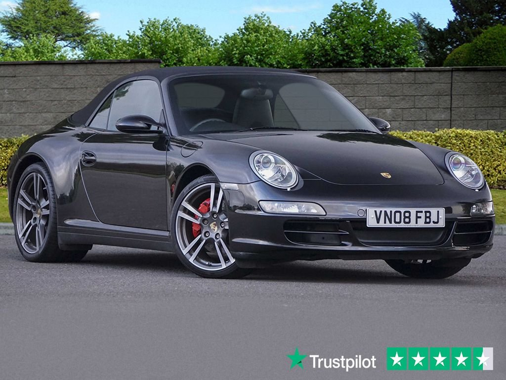 USED 2008 08 PORSCHE 911 3.8L CARRERA 4 S 2d 350 BHP Huge Options List Outstanding Example with Pedigree To Match