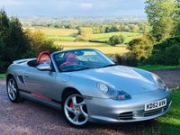 2002 PORSCHE BOXSTER 3.2 24V S 2d 260 BHP IMMACULATE CONDITION £6985.00