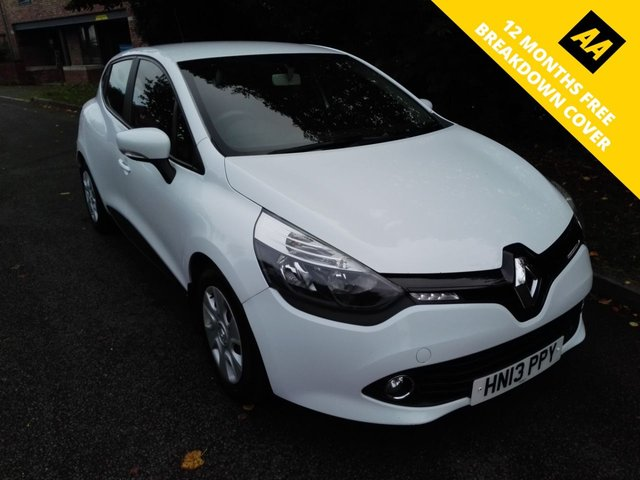 2013 13 RENAULT CLIO 0.9 EXPRESSION PLUS ENERGY TCE ECO2 S/S 5d 90 BHP