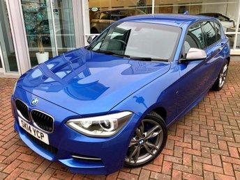 2014 BMW 1 SERIES 3.0 M135I 5d AUTO 316 BHP £15500.00