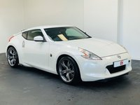 USED 2010 60 NISSAN 370Z 3.7 V6 GT 3d 328 BHP LOW MILES + SERVICE HISTORY + STUNNER IN WHITE