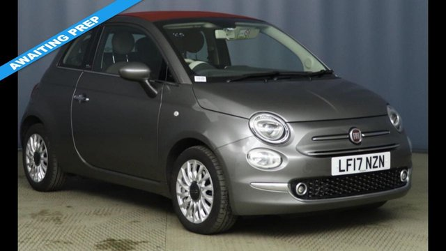 2017 17 FIAT 500 0.9 TWINAIR CONVERTIBLE LOUNGE DUALOGIC 3d AUTOMATIC 85 BHP NEW SHAPE