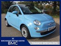 2011 FIAT 500 1.2 LOUNGE 3d 69 BHP £3995.00