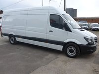 2017 MERCEDES-BENZ SPRINTER 314CDI LWB, 140 BHP [EURO 6], LOW MILES £16495.00