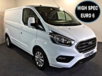 USED 2018 18 FORD TRANSIT CUSTOM 2.0 300 LIMITED P/V L1 H1 129 BHP HIGH SPEC , SECURITY LOCK,  SECURITY LOCK, HIGH SPEC LIMITED MODEL,