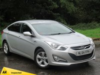 USED 2014 64 HYUNDAI I40 1.7 CRDI STYLE BLUE DRIVE 4d 134 BHP FULL SCREEN SATELLITE NAVIGATION, ALLOYS