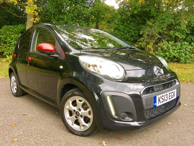 2013 13 CITROEN C1 1.0 CONNEXION 5d 67 BHP 2 PRIVATE OWNERS/ ZERO ROAD TAX/GREAT SERVICE HISTORY