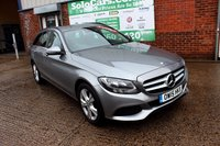 USED 2015 15 MERCEDES-BENZ C CLASS 2.1 C220 D SE 5d 170 BHP +ONE OWNER +NAV +LEATHER +FSH.