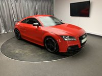 USED 2013 63 AUDI TT 2.0 TFSI BLACK EDITION 2d AUTO 208 BHP FREE UK DELIVERY, AIR CONDITIONING, AUX INPUT, BOSE SOUND SYSTEM, CLIMATE CONTROL, CRUISE CONTROL, DAYTIME RUNNING LIGHTS, HEATED SEATS, STEERING WHEEL CONTROLS, TRIP COMPUTER