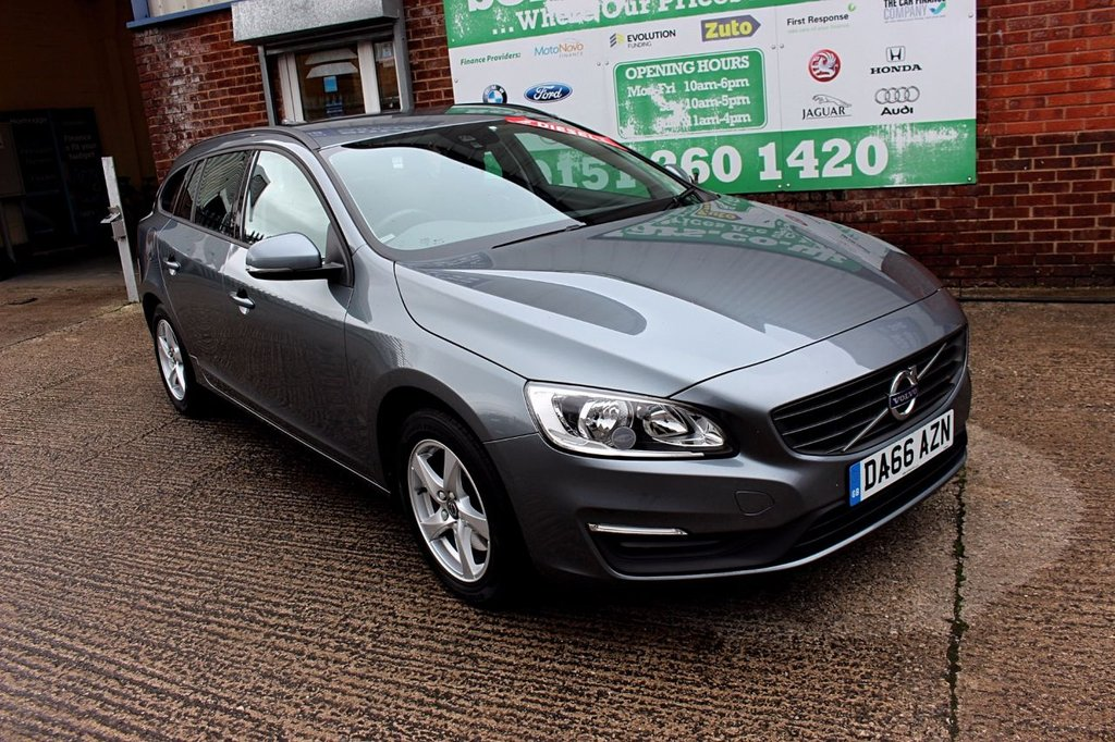 2016 66 VOLVO V60 2.0 D3 BUSINESS EDITION 5d 148 BHP