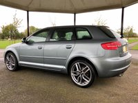 USED 2009 09 AUDI A3 2.0 TDI SE 138 BHP 5DR HATCH BACK +DIAMON CUT ALLOYS+ 7 SERVICES+