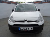 USED 2013 63 CITROEN BERLINGO 1.6 625 ENTERPRISE L1 HDI 74 BHP CITROEN BERLINGO .3STR AIR CON..BLUETOOTH..RD4 SYSTEM