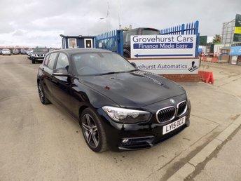 2015 BMW 1 SERIES 1.5 116D SPORT 5d 114 BHP £9495.00