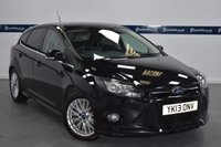 USED 2013 13 FORD FOCUS 1.6 ZETEC S TDCI 5d 115 BHP (ONLY £20 ROAD TAX)