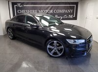 USED 2014 14 AUDI A6 2.0 TDI S LINE 4d AUTO 175 BHP + LEATHER + SAT NAV