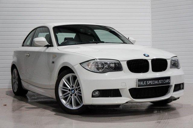2012 62 BMW 1 SERIES 2.0 120D M SPORT (SAT NAV)