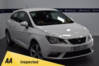 USED 2013 13 SEAT IBIZA 1.4 TOCA 3d 85 BHP (AIR CON AND ALLOYS)