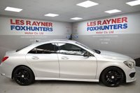 USED 2015 15 MERCEDES-BENZ CLA 2.1 CLA220 CDI AMG SPORT SILVER 4d AUTO 170 BHP Cheap tax, Sat Nav, Half Leather, Cruise control
