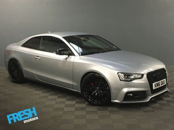 2016 AUDI A5 1.8 TFSI BLACK EDITION PLUS  £18000.00