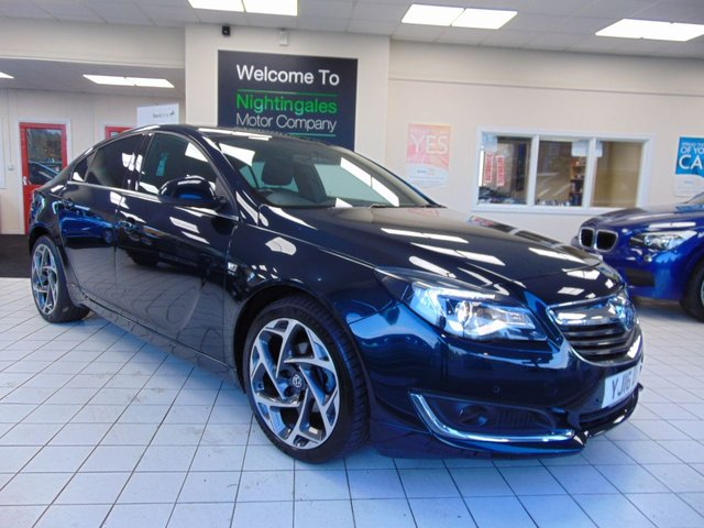 "USED 2016 16 VAUXHALL INSIGNIA 1.6 SRI NAV VX-LINE CDTI S/S 5d 134 BHP ONE OWNER + FULL SERVICE HISTORY + £20 ROAD TAX + BLUETOOTH + CRUISE CONTROL +19"" ALLOYS cLIMATE CONTROL + ELECTRIC WINDOWS + REMOTE CENTRAL LOCKING +"