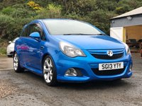 USED 2013 13 VAUXHALL CORSA 1.6 VXR 3d 189 BHP SERVICE RECORD * DAB RADIO * FULL YEAR MOT * HALF LEATHER SPORT SEATS * CRUISE CONTROL