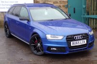 USED 2015 65 AUDI A4 2.0 AVANT TDI BLACK EDITION NAV 5d 187 BHP One Owner Full Audi Service History