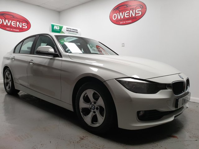 2012 12 BMW 3 SERIES 2.0 320D EFFICIENTDYNAMICS 4d 161 BHP