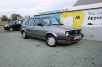 USED 1990 G VOLKSWAGEN GOLF 1.8 GL 5d 89 BHP PETROL SILVER EXCELLENT CONDITION WITH 22 SERVICE STAMPS