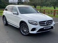 USED 2018 68 MERCEDES-BENZ GLC-CLASS 3.0 GLC 350 D 4MATIC AMG LINE PREMIUM PLUS 5d AUTO 255 BHP Full Leather, Panoramic Roof, Premium Pack, Command, Parking Pack 360 Camera, Burmister Surround Sound System, AMG Multi Spoke Alloy Wheels, Electric Heated Front Seats, Keyless Go Comfort Pack, Electric Folding Mirrors, Running Boards.