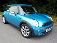 2005 MINI HATCH COOPER 1.6 COOPER 3d 114 BHP CHILLI PACK £3250.00