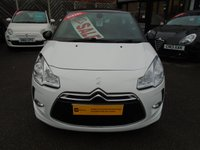 USED 2012 12 CITROEN DS3 1.6 HDI AIRDREAM DSPORT PLUS 3d + FULL LEATHER