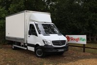 USED 2015 15 MERCEDES-BENZ SPRINTER 2.1 516 CDI LWB LUTON AUTOMATIC Automatic, Reverse Camera, Satellite Navigation,