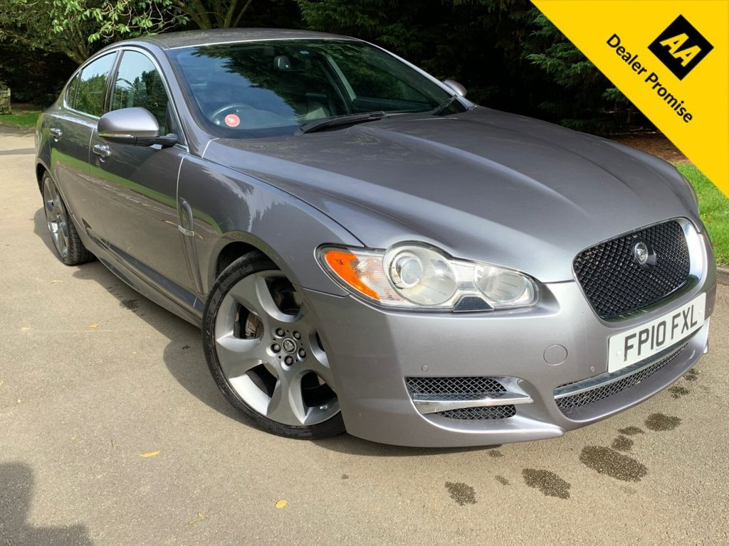 USED 2010 10 JAGUAR XF 3.0 V6 S PORTFOLIO 4d AUTO 275 BHP ONLY 1 OWNER FROM NEW, F.S.H