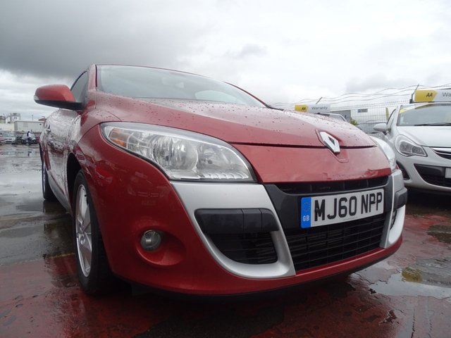 USED 2010 60 RENAULT MEGANE 1.5 DYNAMIQUE TOMTOM DCI FAP 3d VERY CLEAN
