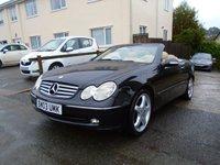 USED 2003 03 MERCEDES-BENZ CLK 3.2 CLK320 ELEGANCE 2d AUTO 218 BHP
